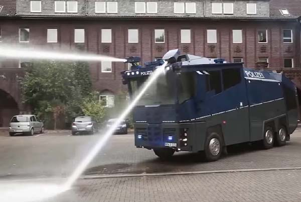 The Shocking Truth about Water Cannons